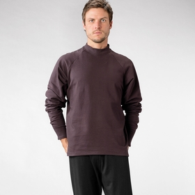 Organic Verve Valhalla Fleece in Maroon