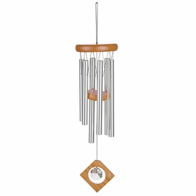 Woodstock Wind Chimes Feng Shui Chime in Crystal