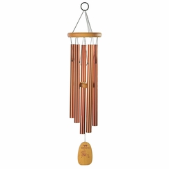 Woodstock Chimes Tibetan Prayer Chime in Bronze