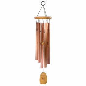 Woodstock Wind Chimes Tibetan Prayer Chime in Bronze