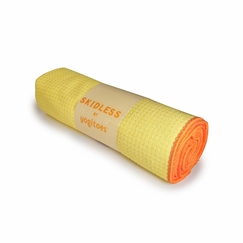 Yogitoes Skidless Towel in Yellow (Solar Plexus)