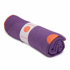 Yogitoes Skidless Towel in Purple (Third Eye)