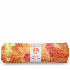 Yogitoes Tie Dye Skidless Towel in Sunburst