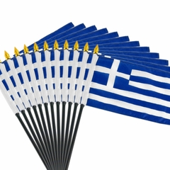 12 Pack of 4x6 Inch Greek Flag (12 Pack)