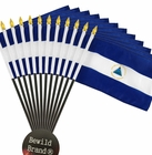 12 Pack of 4x6 Inch Nicaragua Flag (12 Pack)