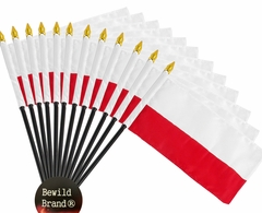12 Pack of 4x6 Inch Poland Flag (12 Pack)