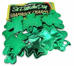 12 pack of St. Patrick's Day Shamrock Charms