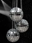"2"" Mirror Disco Ball Necklace"