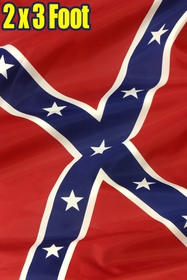 2 x 3 FT Confederate Rebel Flag