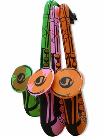 24 Inch Inflatable Party Saxophone