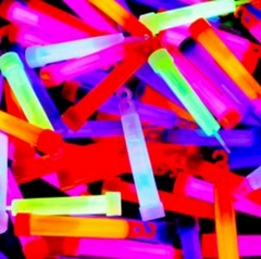 "24 Piece  Party Pack 4"" Glow Sticks (Only 54� Each!)"