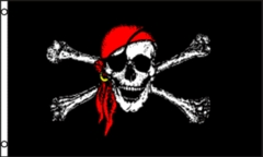 3 x 5 Jolly Roger Pirate Flag