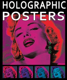 3D Holographic & Lenticular Wall Posters