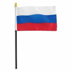4x6 Inch Russia Flag