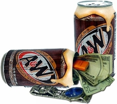 A&W Root Beer Diversion Safe Can