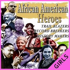 African American Heroes and Record Breakers Girl's T-Shirt