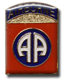 Airbourne Lapel Pin