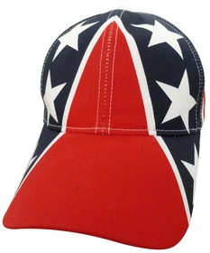All Over Confederate Flag Cotton Snapback Hat