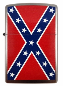 All Over Confederate Flag Zippo