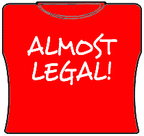 Almost Legal Girls T-Shirt