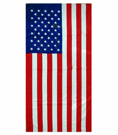 "American Flag Beach Towel (30"" x 60"")"