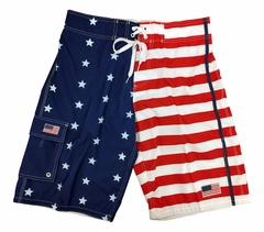 American Flag Pattern Bathing Suit