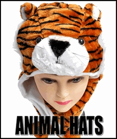 Animal Hats - New Plush Animal Hats