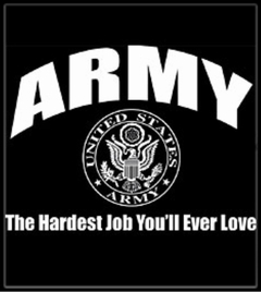 Army The Hardest Job T-Shirt