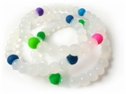 Assorted Clear Karma Bracelet (3 Pack)