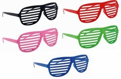 Assorted Pair of Slotted Shades Glasses Sunglasses (3-Pack)
