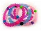 Assorted Solid Color Karma Bracelet (3 Pack)