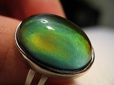 Authentic Oval Mood Ring