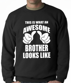 Awesome Brother Adult Crewneck