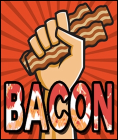 Bacon Themed T-shirts, Boxers, Bacon Clothing & Accessories
