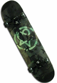 Bam/Him Camo Heartagram Skateboard