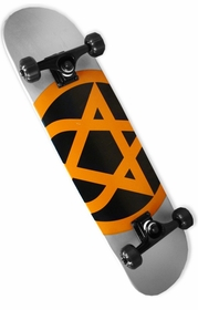 "Bam / Him ""Rocket Heartagram"" Complete Skateboard"