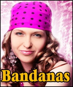 Bandanna - 22 x 22 inch Bandana Head wrap and Du Rag