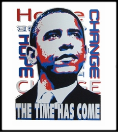 "Barack Obama ""The Time Has Come"" T-Shirt"