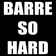 Barre So Hard Mens T-shirt