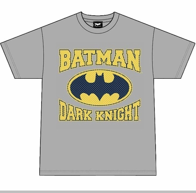 Batman Joker Dark Knight T-Shirt (Grey)<!-- Click to Enlarge-->