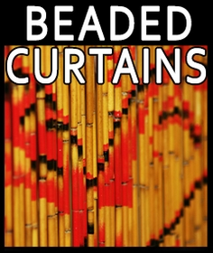 Beaded Curtains :  Bamboo Door Beads and Doorway Curtains