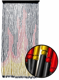 Beaded Curtains - Fire and Flames Door Beads