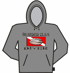 Bearded Clam Diver Hoodie