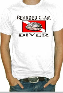 Bearded Clam Diver T Shirt