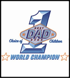 Best Dad Ever World Champ T-Shirt