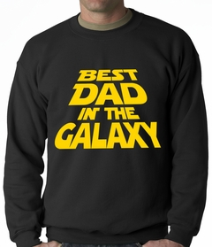 Best Dad in The Galaxy Adult Crewneck