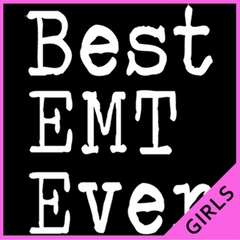 Best EMT Ever Ladies T-shirt