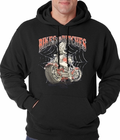 Bikes and B*tches Biker Adult Hoodie