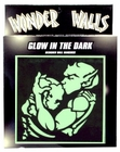Black Light Reactive Glow In The Dark Demon Wall Hanging