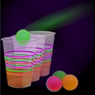 Black Light Reactive Neon Beer Pong Party Pack
